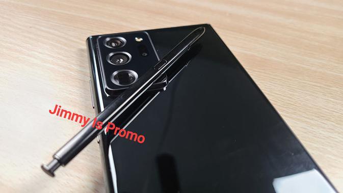 Bocoran foto Galaxy Note 20. (Doc: @JimmyIsPromo / Twitter)