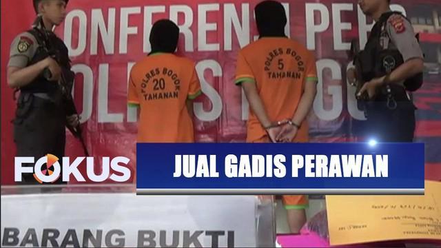 Mucikari di Bogor jual gadis perawan seharga Rp20 juta melalui media sosial.