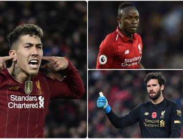 5 Pemain Liverpool yang Bakal Hancurkan Arsenal di Community Shield