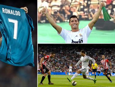 FOTO: Momen Indah Kebersamaan Cristiano Ronaldo dengan Real Madrid