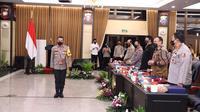 Polresta Malang Kota mendapat penghargaan predikat pelayanan prima dari Kemenpan-RB. (IST)