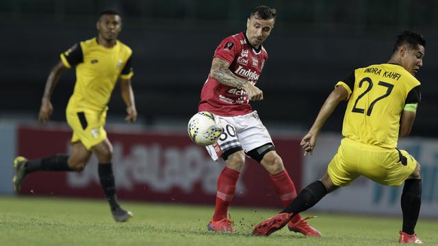 Image result for Bungkam Bhayangkara FC, Bali United ke Puncak Shopee Liga 1 2019