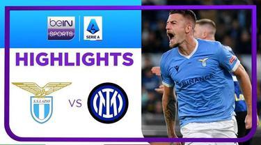Berita Video, Hasil Pertandingan Lazio Vs Inter Milan dalam Pekan ke-8 Liga Italia pada Minggu (17/10/2021)