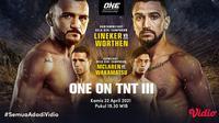 Streaming One Championship : One On TNT III di Vidio. (Sumber : dok. vidio.com)