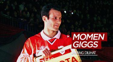 Berita video beberapa momen dari legenda Manchester United, Ryan Giggs, yang mungkin kamu jarang lihat.