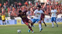 Duel PSM vs PSIS di Stadion Andi Mattalatta Mattoangin, Makassar, Rabu (11/9/2019). (Bola.com/Abdi Satria)