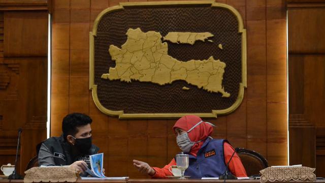Empat Daerah di Jawa Timur Kembali Masuk Zona Merah COVID-19