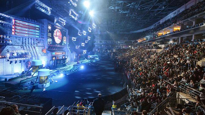 Suasana turnamen eSports. (Sumber: CraveOnline)