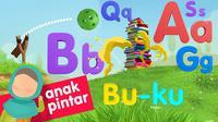 Mengenalkan alfabet kepada anak adalah lewat video animasi edukatif dari Sarah Playschool. (Sumber: YouTube/Sarah Playschool)