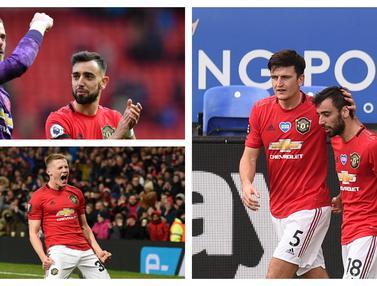 FOTO: 3 Pemain Manchester United yang Lebih Pas Jadii Kapten dibanding Harry Maguire