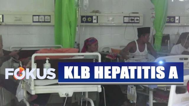 Meningkatnya kasus hepatitis A terjadi sejak dua pekan terakhir.