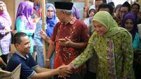 Calon wakil gubernur Jawa Tengah nomor urut 2 Ida Fauziyah. (Liputan6.com/Fajar Eko Nugroho)