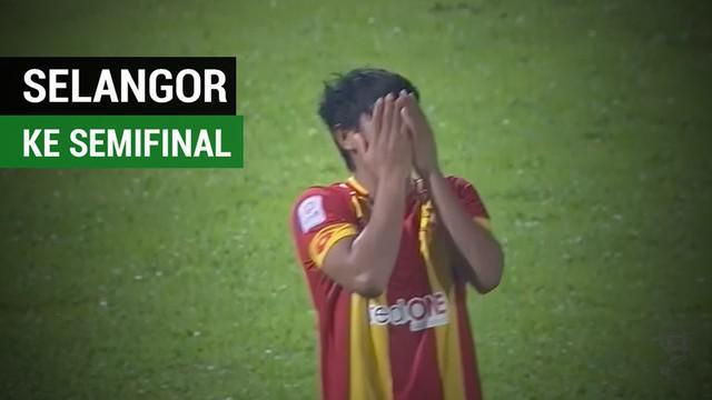 Berita video Selangor FA, yang diperkuat Evan Dimas dan Ilham Udin Armaiyn, ke semifinal Piala FA Malaysia setelah menang adu penalti atas Kuala Lumpur FA.