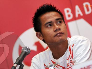 M Robi pun berharap mampu memberikan hasil maksimal dalam dua laga uji coba yang akan dijalani Timnas Indonesia jelang bertandang melawan Cina (Liputan6.com/ Helmi Fithriansyah)