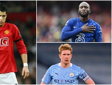 Foto: 7 Pemain dengan Bayaran Tertinggi di Liga Inggris, Cristiano Ronaldo Gusur Kevin De Bruyne