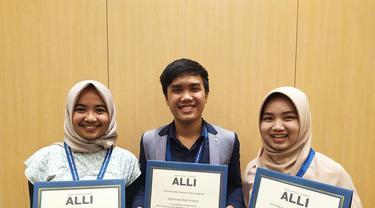 Tiga pemimpin muda Indonesia berpartisipasi KTT Pemuda Indo-Pasifik di Tokyo. (Dokumentasi Kedutaan AS di Jakarta)