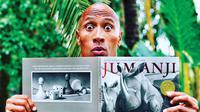 Dwayne Johnson dalam Jumanji: Welcone to the Jungle. (Pinterest)
