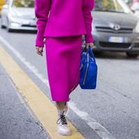 Padu padan busana dengan warna fuchsia. (sumber foto: instagram.com/pinterest)