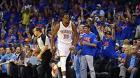 Kevin Durant  (RONALD MARTINEZ / GETTY IMAGES NORTH AMERICA / AFP)