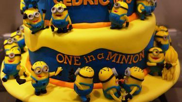 One Of A Minion Ini Sekian Ide Kue Ulang Tahun Bertema