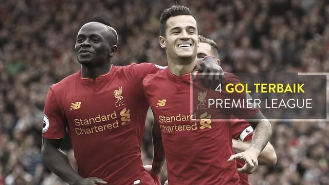 Video highlights 4 gol terbaik Premier League pekan ke-6, Coutinho membawa Liverpool bungkam Hull 5-1.