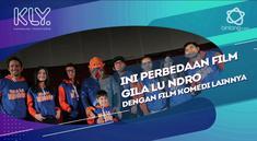 Herwin Novianto Selaku sutradara menjelaskan perbedaan film Gila Lu Ndro dengan film komedi lainnya.