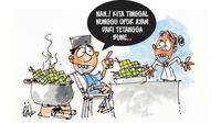 Kartun karya GM Hadiprasetyawan