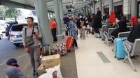 Situasi di Pasar Pasar Senen, Jakarta, Selasa (11/6/2019). (Liputan6.com/ Yopi Makdori)