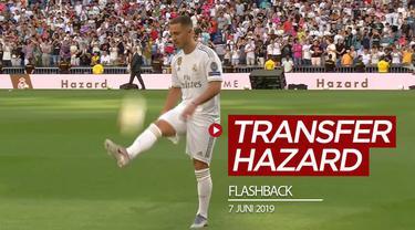 Berita video flashback setahun lalu, tepatnya 7 Juni 2019, Chelsea mengumumkan sepakat untuk melepas Eden Hazard ke Real Madrid.