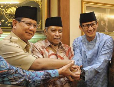 Prabowo dan Sandiaga Temui Ketum PBNU Said Aqil Siroj
