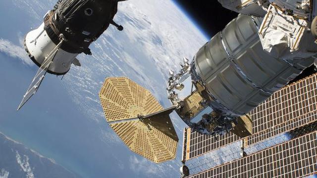 Ilustrasi Stasiun Ruang Angkasa Internasional, atau ISS (AP)