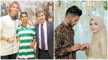 Momen Mesra Martunis Anak Angkat Cristiano Ronaldo dengan Kekasih yang Resmi Lamaran