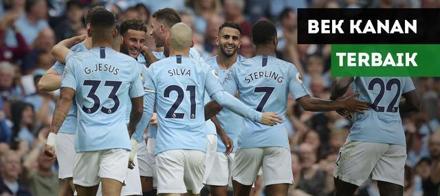 Siapa saja bek kanan terbaik Premier League di musim ini?