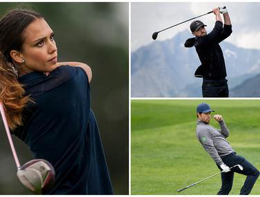 FOTO: Jessica Alba dan 6 Bintang Hollywood yang Jago Bermain Golf