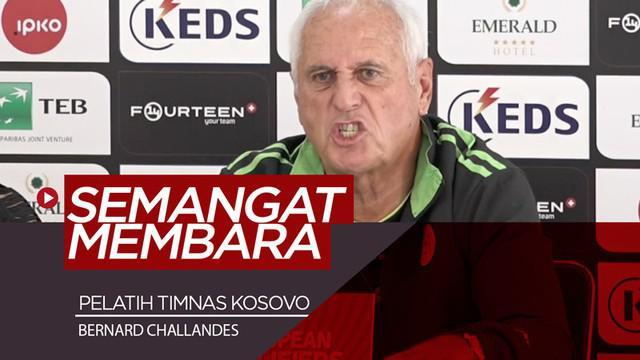 Berita video momen pelatih Timnas Kosovo, Bernard Challandes, membara di sebuah konferensi pers Kualifikasi Piala Eropa 2020.