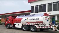 Mobile dispenser Pertamina (Foto:Merdeka.com/Wilfridus S)