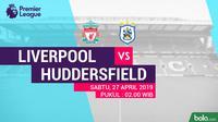 Premier League - Liverpool Vs Huddersfield Town (Bola.com/Adreanus Titus)