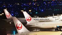 Maskapai Japan Airlines (JAL). (dok. Instagram @ japanairlines_jal/https://www.instagram.com/p/B8s5oESAUiF/)