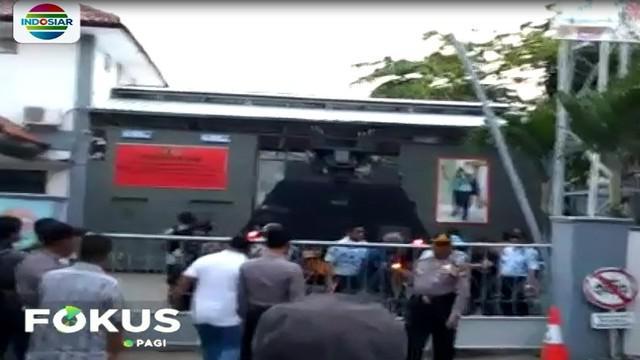 Sebanyak 145 napi teroris tersebut akan di tempatkan di Lapas Nusakambangan dengan pengamanan super ketat.