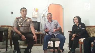 Kapolres Banyumas AKBP Bambang Yudhantara mendatangi kantor PWI Banyumas untuk meminta maaf atas penganiayaan wartawan oleh anggotannya