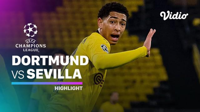 Berita video highlights Liga Champions, Borussia Dortmund Vs Sevilla, Rabu (10/3/21)