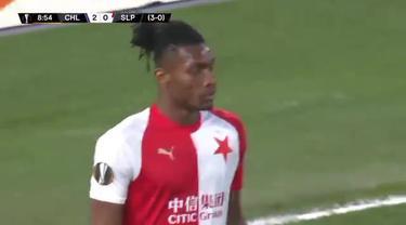 Berita video highlights leg II perempat final Liga Europa 2018-2019 antara Chelsea melawan Slavia Praha yang berakhir dengan skor 4-3 di Stamford Bridge, Kamis (18/4/2019).