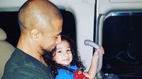Marcell Siahaan dan putranya, Seth Ananda [foto: instagram.com/rimamelati]