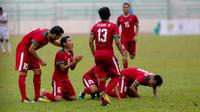 Timnas Indonesia U-22 Vs Myanmar (Faizal Fanani)