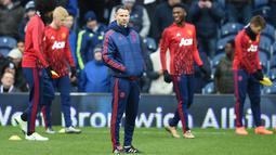 Pengalaman menangani Timnas Wales dan pernah dibesut pelatih sekaliber Sir Alex Ferguson, merupakan modal positif Ryan Giggs untuk menangani Manchester United. (AFP/Paul Ellis)