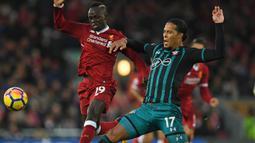 Sang pemain akan menuju Stadion Anfield saat bursa transfer musim dingin yang dibuka pada 1 Januari 2018. ( AFP/Paul Ellis)