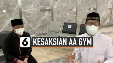 Ulama Syekh Ali Jaber meninggal dunia hari Kamis (14/1). Penceramah Aa Gym sempat melihat almarhum di Rumah Sakit Yarsi dan bersaksi mengenai kondisinya.