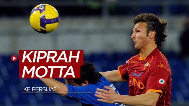 Berita video kiprah mantan pemain Juventus, Marco Motta,  yang kini dikaitkan dengan Persija Jakarta