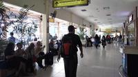 Total penumpang di Bandara Adisutjipto, Yogyakarta meningkat 26,91 persen jika dibandingkan dengan tahun lalu. (Liputan6.com/Switzy Sabandar)