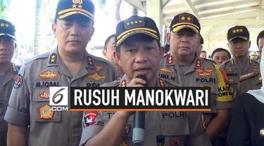 Kapolri Jenderal Polisi Tito Karnavian mengatakan kerusuhan di Manokwari disebabkan banyaknya hoaks terkait insiden warga Papua yang ada di Malang-Surabaya.
